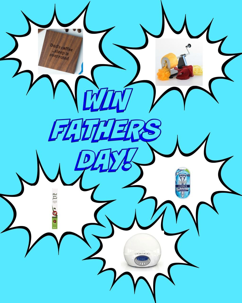 Fathers Day competition prizes