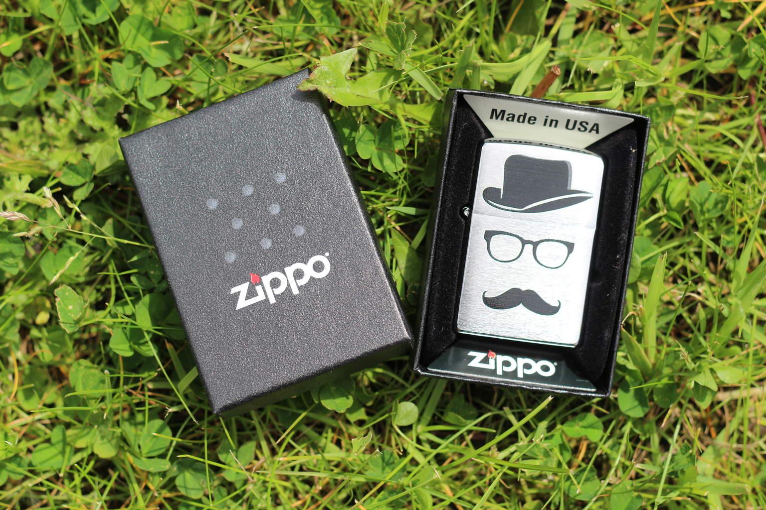 Zippo Moustache