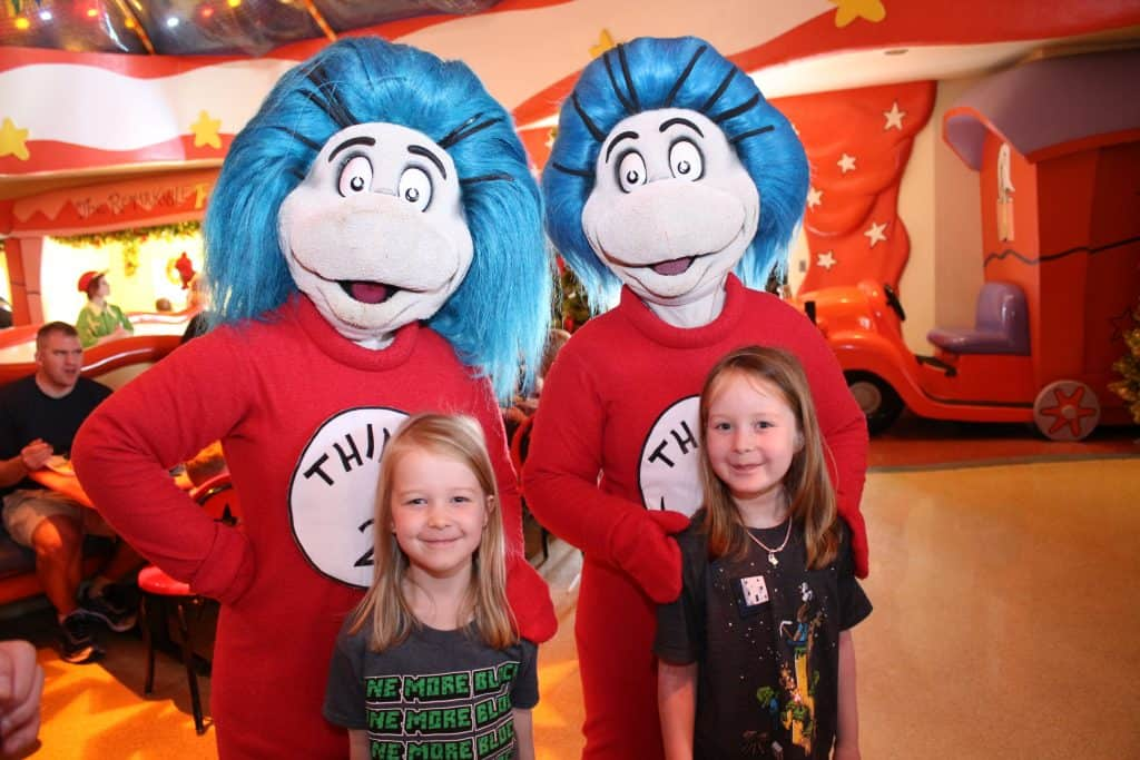 Universal Thing 1 and Thing 2
