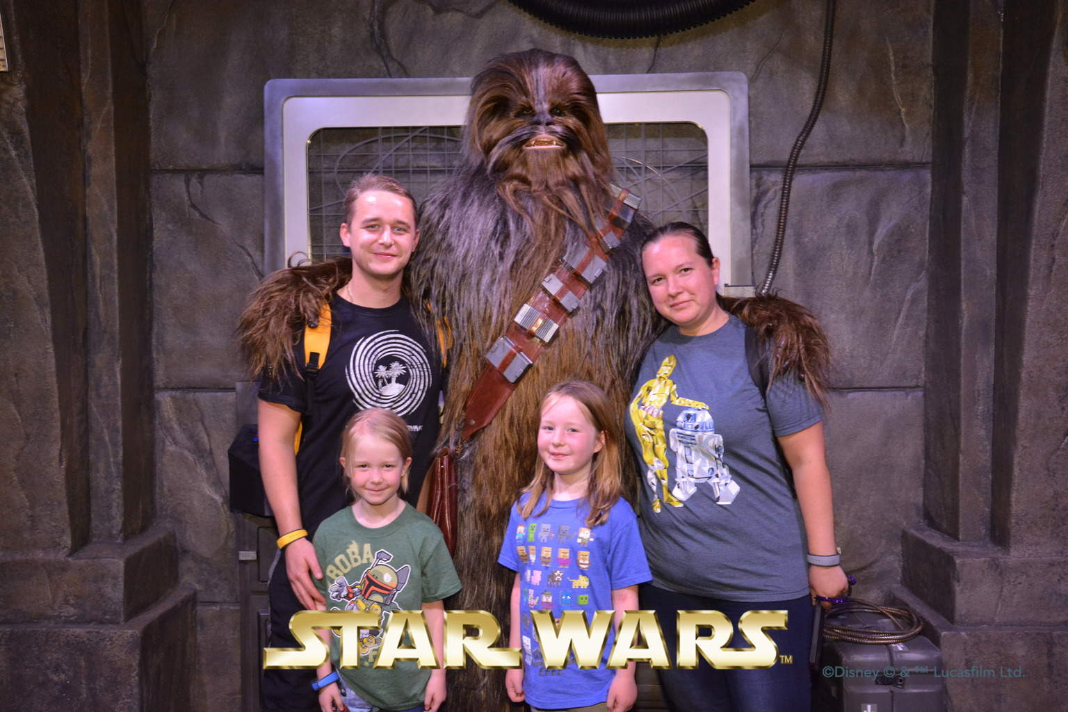 Star wars Chewbacca Disney WDW