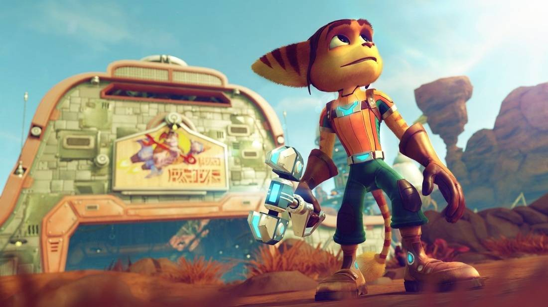 Ratchet & Clank on the PS4