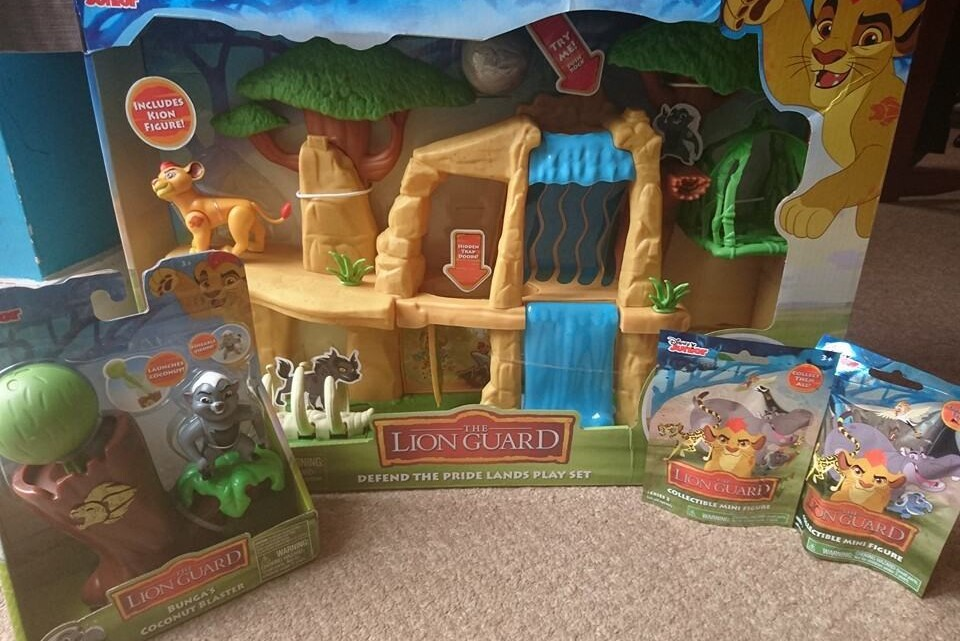 The Lion Guard toy collection