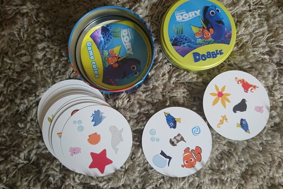 Finding Dory Dobble – available now