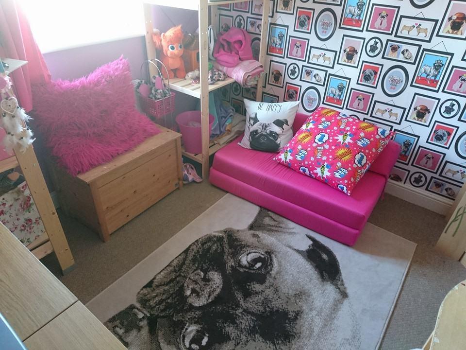 Valspar finished bedroom