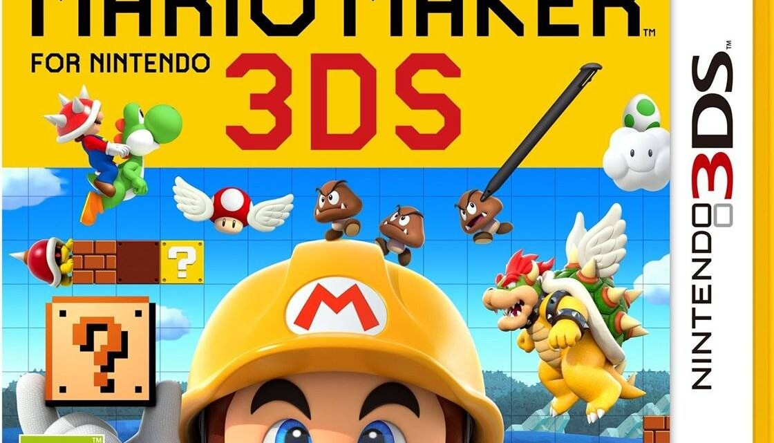 Super Mario Maker on the 3DS