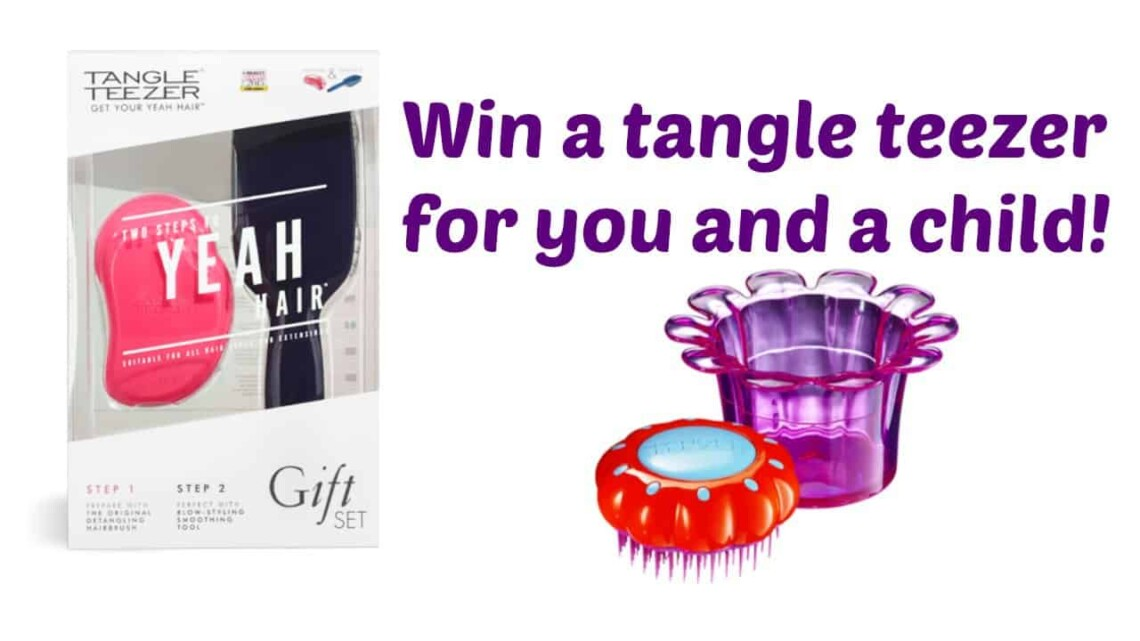 Win Tangle Teezers for you and a child