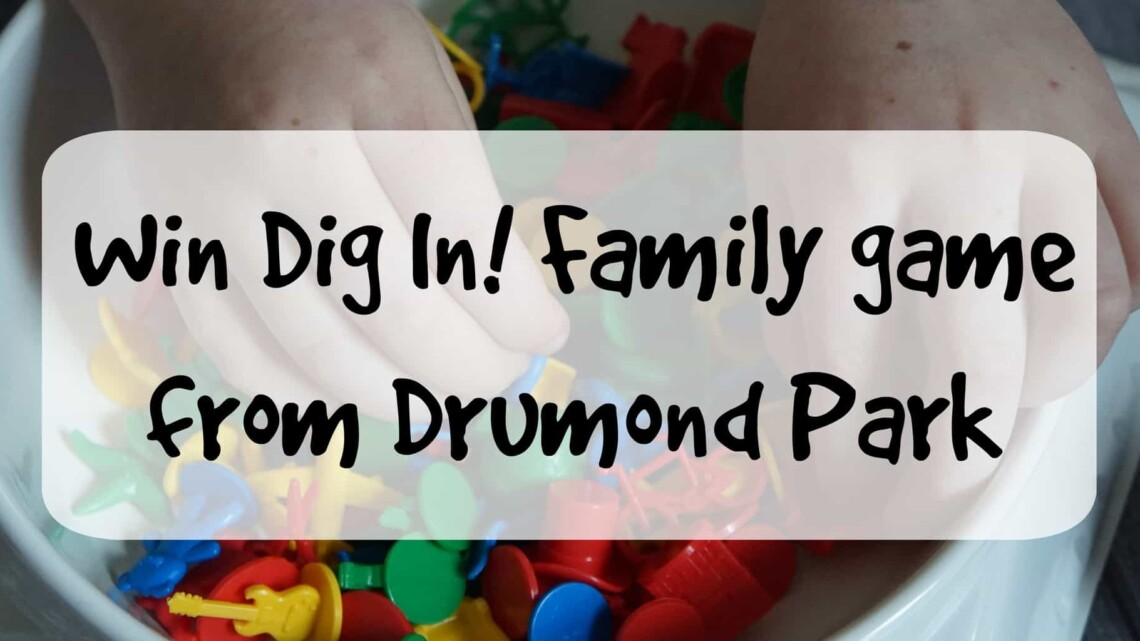 Win the Dig In! family game by Drumond Park