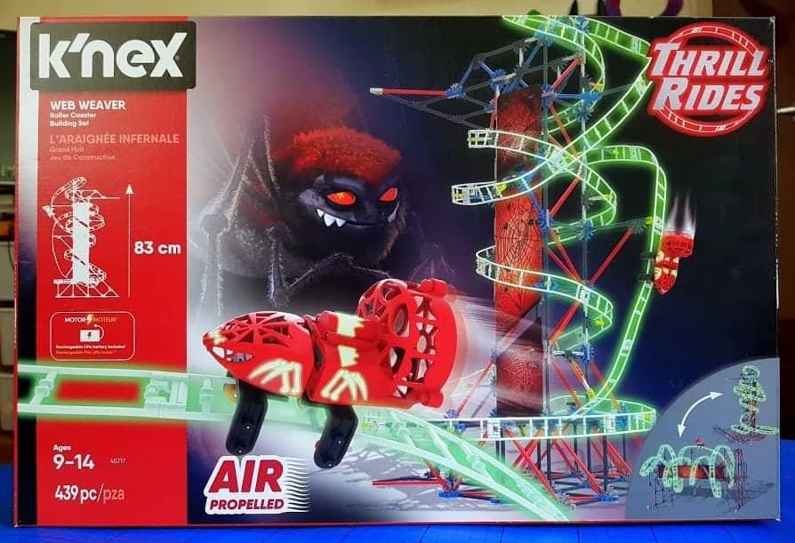 K'NEX Web Weavers Roller Coaster