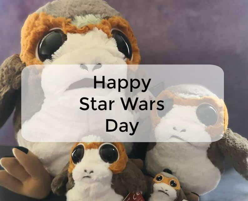 May the Fourth be with you! Happy Star Wars Day