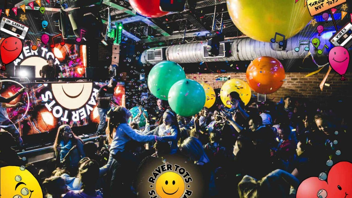 Happy Blogoversary – WIN A FAMILY TICKET TO A RAVER TOTS EVENT THIS SUMMER