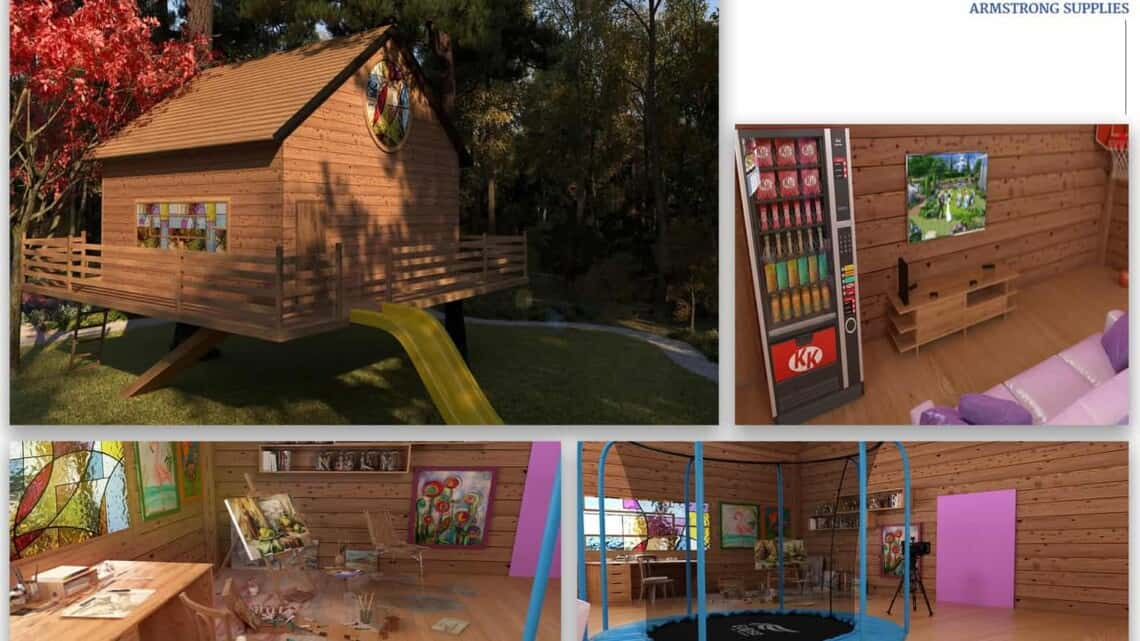 Alison's dream treehouse brought to life #AD