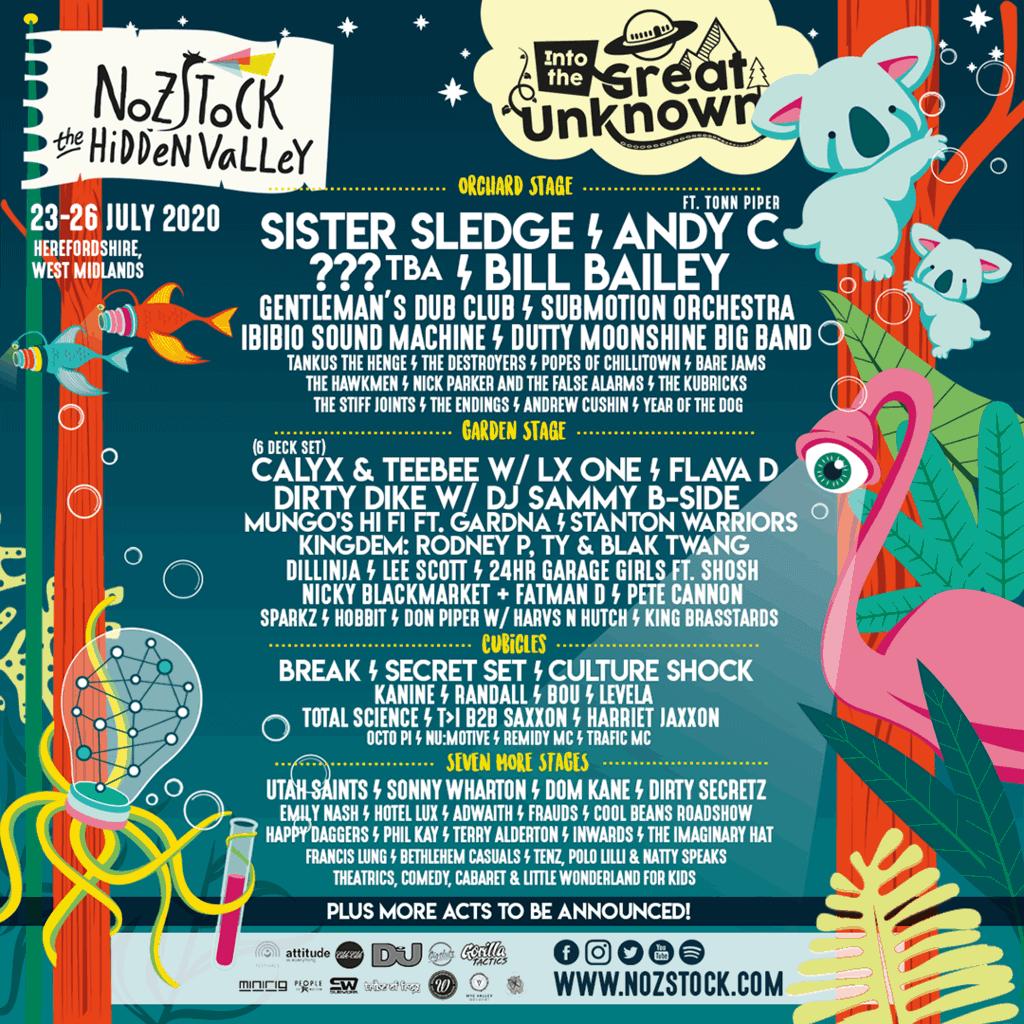 Win a family ticket to Nozstock Festival 2020