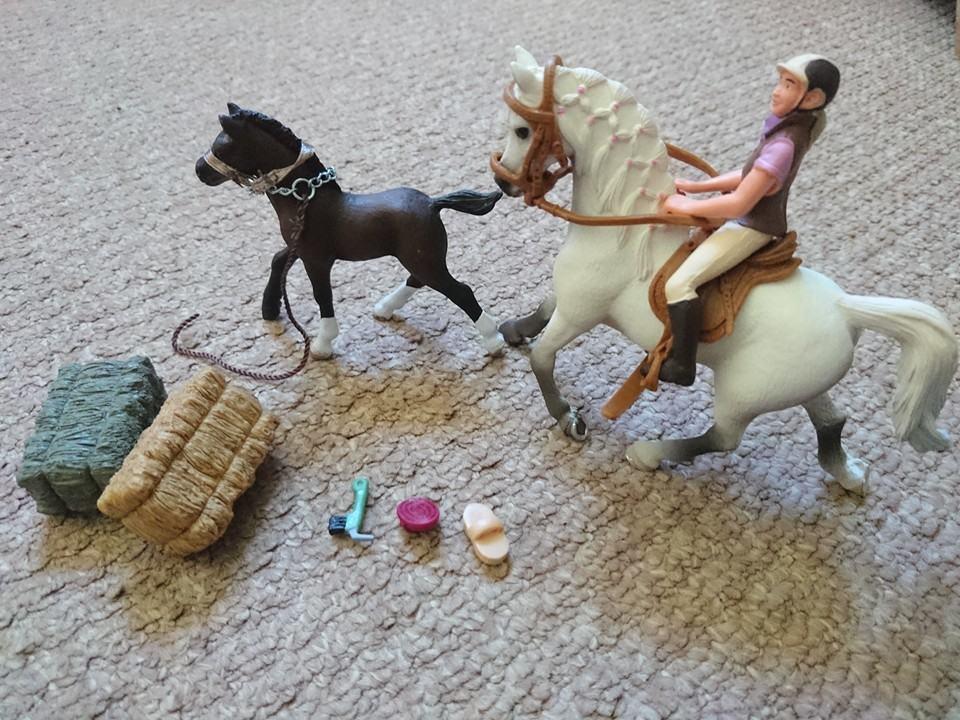 Schleich horse club horse and rider